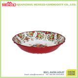 Large Melamine Serveware Plastic Noodle Bowl