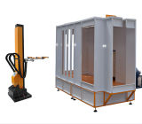 Powder Coating Equipment Auotomatic Spray Booth Work with Reciprocator