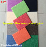 Theater Differnet Colours Polyester Fiber Soundproof Building Material Acoustic Panel Wall Panel Ceiling Panel Decoration Panel