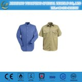 Fr Orange 100% Cotton Men′s Fr Work Shirts