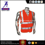 Reflective Safety Mesh Vest with High Reflective Fabric