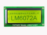 192X64 Graphic LCD Display Cog Type LCD Module (LM6072A)