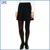 High School Pleated Knit Skirt for School Uniform