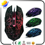Wrangler USB Cool Crack Luminescent 6D Game Mouse