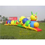 Inflatable Caterpillar Tunnel for Kids and Adutls