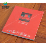 Art Paper Soft Cover Printing Book with UV