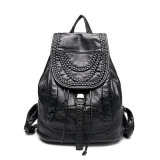 Durable Trend Online Wholesale Leather Bag Laptop Backpack