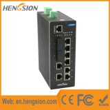 10 Ports Managed Industrial Ethernet SFP Fiber Network Switch