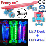 22inch Plastic Mini Flashing Board Mini Cruiser Skateboard
