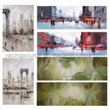 Morden City Printing Canvas Streched Canvas Painting