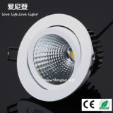 Factory Price COB LED Downlight Recessed Light 20W for Shopping Mall