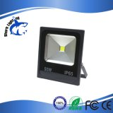 Slimline 50W Black LED Floodlight