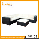 Garden Patio Leisure Chairs Furniture Rattan Bench Aluminum Cafe Sofa Set