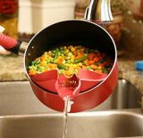 New Kitchen Gadget Tools Silicone Soup Funnel