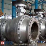 Gear Two-Piece Fixed Ball Valve with API6d