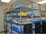 NSF 5 Tiers Adjustable Chrome Steel Hospital Storage Shelf