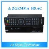 New Product H. 265 TV Decoder Zgemma H5. AC DVB S2 + ATSC