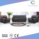 Black Soft Density Solid Wood Frame Reception Room Furniture Office Sofa