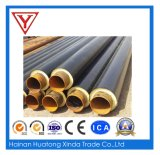 Fiber Glass Material Insulated Steel Pipe