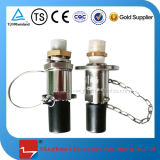 Stainless Steel Cryogenic Reclaiming Receptacle for LNG Back Gas Nozzle