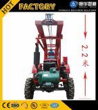 Mini Trailer Mounted Farm Tractors Well Drilling Machine Portable