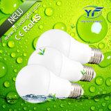 6W 8W 12W A60 85-265V Plastic Lighting with RoHS CE