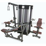 China Wholesale Commercial Combo Multi-Gym 4 Stations / 8 Functions Professional Body Building Equipment / Strength Equipment
