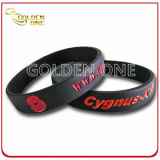 Factory Wholesale Price Personalized Recessed Color Silicone Wristband