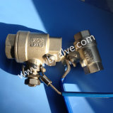 2PC Stainless Steel Threaded Full Bore Ball Valve