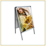 Bestselling Store Front Double Sided Poster Rack