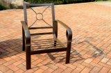 Comfortable Garden Stationary Sofa Chair Aluminum Furniture (NO cushion)