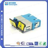Sc Duplex Fiber Optic Adapter with Shutters