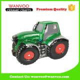 New Arrivals Child Toy of Jeep Ceramic Saving Box