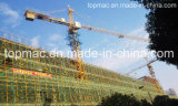 80m Top Quality Towe Crane with 50m Jib Length and 6ton Loading Weight