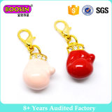 Wholesale Gold/Silver Plated Alloy Sport Boxing Glove Charm #17710