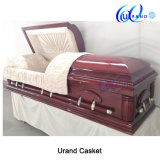 High Quality Solid Cherry Best Distributor Coffin and Casket