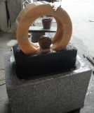 Natural Marble/Granite Stone Carved Water Fountain for Garden