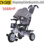 Children Kids Stroller Bicycle Baby Tricycle Bike with Push Bar