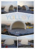 Half-Moon Shape Inflatable Vaulted Tent
