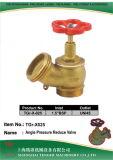 "Pressure Reduce Angle Hydrant Valve: 1-1/2"" Bsp - Uni45"