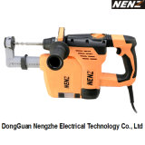 Eco-Friendly and Safe Electrical Drill with Soft-Grip Handle Dust Collection Used on Decoration Industry (NZ30-01)