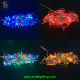 Rubber Cable LED Christmas String Light