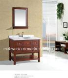 America Style Floor Mounted Bathroom Cabinet Soildwood Bathroom Vanities