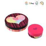 Pretty Round Candy Storage Gift Box (GB-032)
