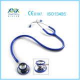 Deluxe Maney Medical Dual Head Stethoscope (MN-MS411) with Chrome Plated