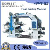 Mt Series Four Color Plastic Flexo Printing Machine (GWT-B2)