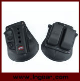 Military Glock 17/19 Pistol with Magazine Pouch Holster