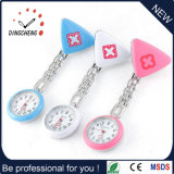 Promotion Gift Colorful Silicone FOB Nurse Watch with Japan Movement (DC-1139)