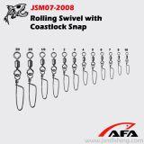 High Quality Fishing Rolling Swivel with Coastlock Jsm07-2008