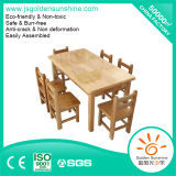 Solid Wood Wooden Kindergarten Furniture for Children and Kids